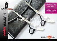 "5.5"" Brand Scissors kit Razor Shears + Thinning Shears Professional Hairdressing Scissors Chinese 440C Quality  61 HRC Perfect"
