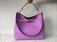 shoulder purse 2014 new color  fashion women design original cow leather  handbag top quality wholesale