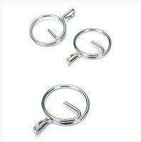 diamagnetic  Stainless Steel Keyring Quick Release Keychain 304 Stainless Steel Outdoor Tool Hook Protect Nails 40pcs/lot