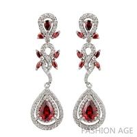 2014 New design Swiss Zircon Dangle Earrings exaggerated Austrian Crystal drop earring Women Jewelry earrings (FE-25)