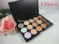 New Professional 15 Color Concealer Camouflage Face Cream Makeup Palette Set Make up Concealer Eyeshadow Cosmetic