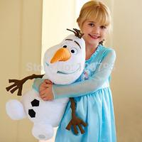 NEW 30CM Cartoon Movie Frozen Anna/Elsa/Olaf Plush Toy doll Stuffed Cotton Snowman Olaf Toys High quality Dolls