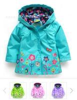 Retail+Free Shipping! Girls Hoodies, Girls Jackets, Outerwear & Coats, Children's Coat, Spring Autumn Baby Coat Girls,Girls Coat