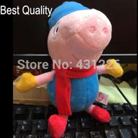 New Arrived Hot Sale Peppa Pig Toys George Peppa Pig Plush Toy Movie TV Peppa Pig hold Teddy Stuffed Animals Dolls
