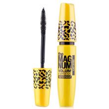 2014 Brand new compõem Leopard Caso Longo Curling Eyelash Transplanting Gel Makeup Mascara definição impecável Drop Shipping(China (Mainland))