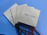 Freeshipping  5pcs/lot TEC1-12704 Thermoelectric Cooler Peltier 40*40mm