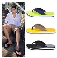 Authentic male han edition Beckham flip-flops is cool procrastinate hole hole shoes men slippers summer men's World Cup
