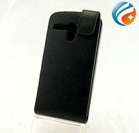 Flip Leather Case for Motorola MOTO G Black Back Cover ,50pcs/lot free shipping