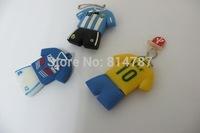 World Cup Star Udisk Uniforms Disk Creative Lovely Cartoon USB U Disk