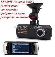 100% Original LS650W Car DVR FHD 1080P F90 Car Camera Super Night Vision +2.7 inch TFT Display +H.264 Video Codec+G-sensor+WDR