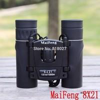 New Binoculars Maifeng 8x21 telescope night vision infrared telescopio binoculo optical prism binocular luneta visao noturna