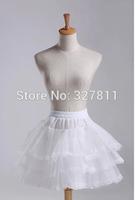 Boneless pannier skirt short stretcher dress crinolette ballet pannier laciness