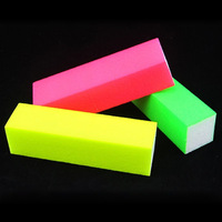 10pcs Pro 4 Way Fluorescence Files Block Nail Buffer Files for Buffing and Sanding  Manicure Acrylic Tips Nails Nail Tools nab3