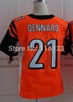 2014 Draft Pick  Men's Football Jersey Darqueze Dennard #21 Elite Sprots Jerseys-Orange,Black Size:40~56+Free Shipping,Mix Order