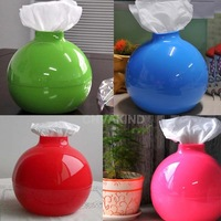 #Cu3 Simple Bomb Shape Tissue Box Cover Holder Room Toilet Paper Pumping Case