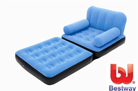 bestway sofa set living room furniture five-in-one inflatable sofa air sofa bed 191cm*96cm*63cm include electric pump