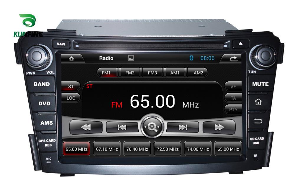 "Car DVD 7"" In Dash Car DVD Player with GPS Navigator Radio RDS Bluetooth USB SD iPod for Hyundai i40 2011-2012 KF-7029(China (Mainland))"