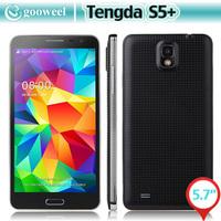 Tengda S5+ Smart phone 2GB 16GB MTK6592 Octa core 5.7 Inch HD Screen 3G GPS WIFI CELL phone OTG Gesture Sensing
