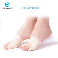 1 Pair Unisex Big Little Toe Separator Hallux Valgus Varus Straighteners Bunion Corrector Sock Feet Care Tool