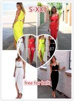 4 colors women summer dress 2014 Irregular beach bohemian dress sexy party dresses vestidos casual dress plus size desigual