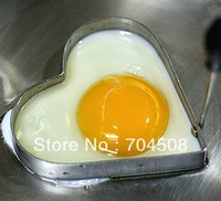 Cook Frie Egg Pancake Stainless Steel Heart Shaper Mould Mold Kitchen Tool