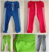 Children's thick fleece clothing kids sports pants trousers spring autumn baby boys girls shampooers Sweatpants sportswear