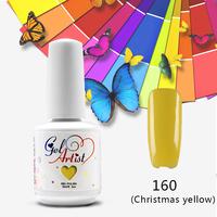 DHL 24pcs DHL! new colors Gelartist  550 Colors Soak Off UV LED Nail Polish hot sales(10colors+1top coat +1base coat)