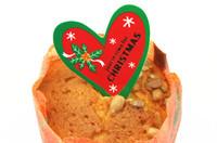 50pcs/lot christmas cake mousse heart cake decoration tool