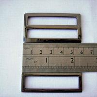 """2"""" Gunmetal triglide slider & buckle for adjustable straps"""