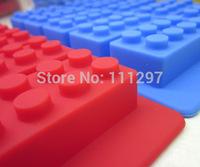 Wholesale LFGB block brick Ice Mold  Ice Cube Tray Free Shipping via Fedex /DHL, 100pcs per lot