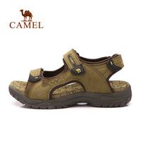 For camel outdoor sandals male 2014 sandals summer sandals Men cowhide sandals