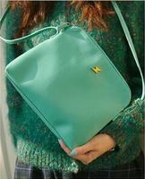 2014 New Arrival Korean Handbag Of The Candy-colored Women Small Messenger  Bags Ladies Evening Handbag bg-0135