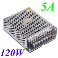 120W 5A AC 100V-240V to DC 24V Voltage Transformer Switch Power Supply for Led Strip Led Display Led control Led switch