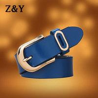 New Fashion Women genuine leather belt all-match decoration belt accessories BT011