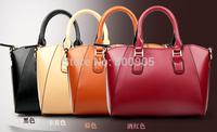 HOT!New 2014 fashion women leather handbags famous brand cowhide handbag one shoulder bag messenger bag totes for lady