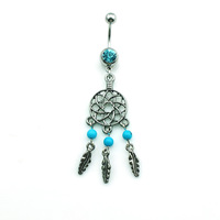 Wholesale 2014 NEW Body piercing fashion piercing jewelry navel & belly button rings  DQK0765