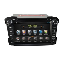 Capacitive multi-touch Android 4.2.2 A9 dual-core  Nand  8GB  1.6GHz  car dvd player fit for Hyundai I40 2011 2012 2013