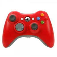 New ABS Wireless Game Remote Controller for Xbox 360 / PC Red