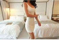 Free Drop shipping 2014 Summer Women sexy dress Fashion Cotton Empire Tank MINI Dress Sex Girls Club Dresses Solid party dress