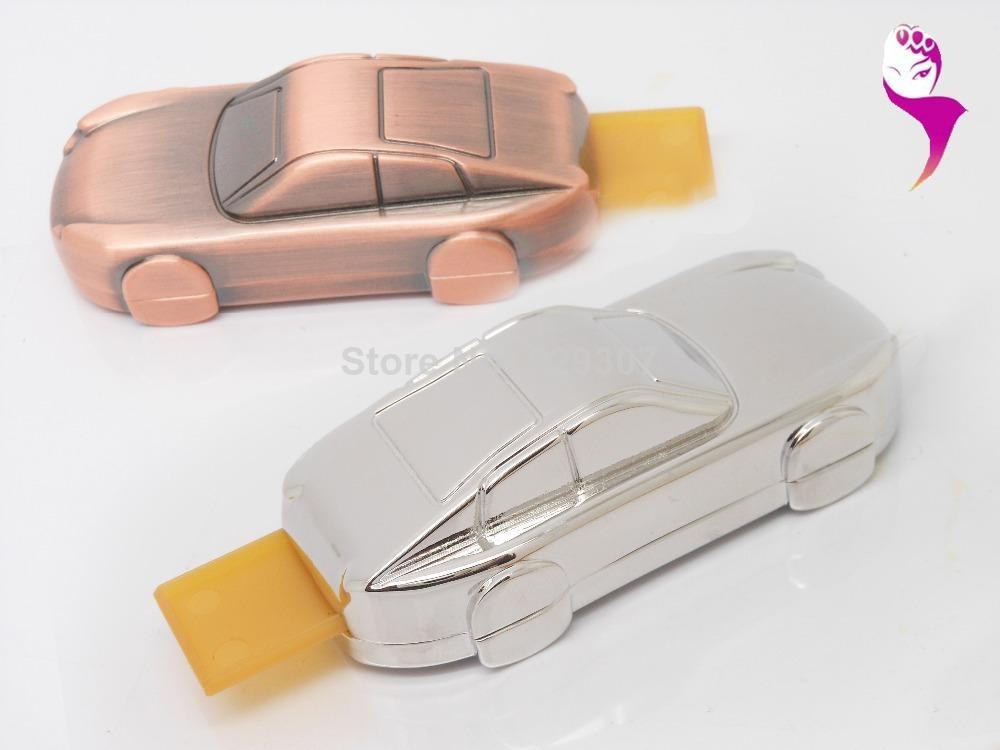 Octavia U disk creative racing car gift u disk u disk Mini Gift a customized shipping(China (Mainland))