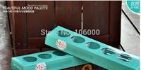freeshipping- macaron gift packing, macaron box, biscuit holder,cookie box( total 5 hole),40PCS/LOT