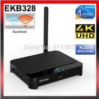 Android 4.4 XBMC Android TV Box RK3288 Quad Core Cortex-A17 2.4G/5G Dual Band WiFi Mali-T7 3D GPU Bluetooth Media Player EKB328
