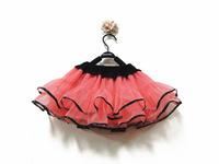 2-8 Years Lovely Fluffy Chiffon Pettiskirts Girls Skirts Children Tutu Skirt Princess Dance Party Skirt Free Shipping
