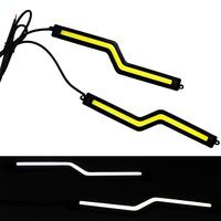 2014 New 12W COB Chip DRL New update Daytime Running Light 100% Waterproof LED DRL Fog car lights