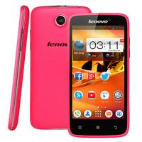 Original Lenovo A516 4GB Pink,4.5inch 3G Android 4.2.2 Smart Phone,MTK6572 ARMv7 Dual Core,1.2GHz,RAM:512MB,GSM & WCDMA,Dual SIM