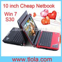 Free Shipping to Brazil :10 inch Windows laptop with Intel Atom D2500 1GB 160GB WIFI Camera HDMI SD