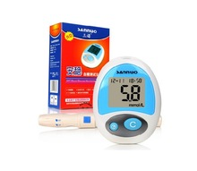 Free Shipping New Secure Glucose Meter Glucometer Monitoring Blood Sugar
