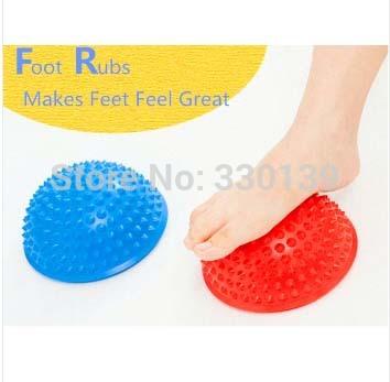 Massage Half Ball Stability Exercise Yoga/Gym Fitness Pilates Ball weight ball 250kg Anti Burst(China (Mainland))