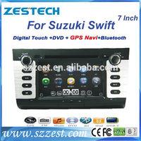 ZESTECH China Factory OEM 2 Din Touch screen Suzuki Swift Car Audio Navigation
