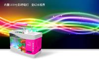 Best Gift---Fantasy Bluetooth Handsfree Speaker Music LED Desktop Aquarium